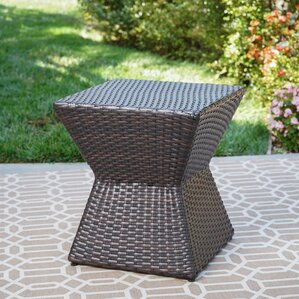 Pasternak Outdoor End Table by Varick Gallery