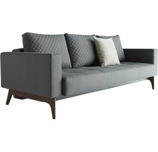 Buy clear Cassius Quilt Deluxe Sleeper Sofa by Innovation Living Inc. Reviews (2019) & Buyer's Guide