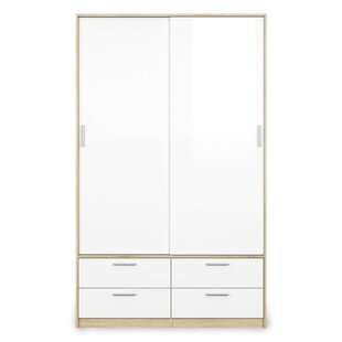 Deckert 3 Door Sliding Wardrobe By Brayden Studio