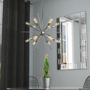 Langley Street Corona 12-Light Sputnik Chandelier