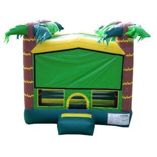 JumpOrange Tropical Aloha Bounce House