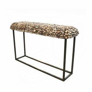 Bellini Modern Living Pebble Console Table