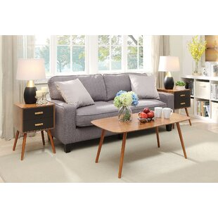 Langley Street Creenagh 3 Piece Coffee Table Set