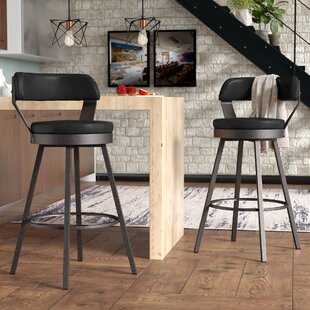 Berrin 30.3 Swivel Bar Stool (Set of 2) Trent Austin Design