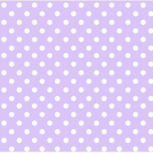 Pastel Polka Dots Woven Portable Mini Fitted Crib Sheet