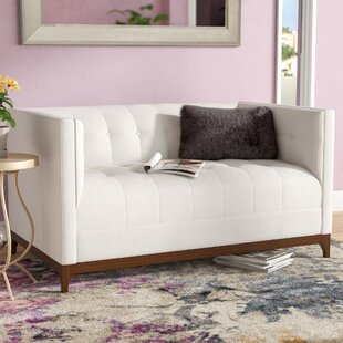 Weitzman Loveseat by Latitude Run 2019 Sale