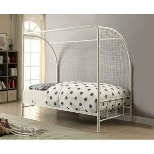 Kids Twin Canopy Bed   Wayfair