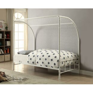 Reviews Neighbors Twin Canopy Bed by Zoomie Kids Reviews (2019) & Buyer's Guide
