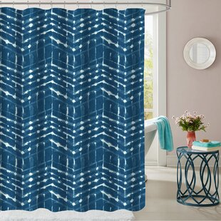 Columbia Point Polyester Single Shower Curtain