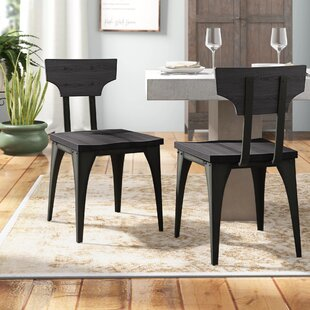 Mariana Solid Wood Dining Chair (Set of 2..