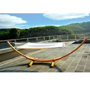 Gadson Arc Patio Cotton Hammock with Stand by Brayden Studio