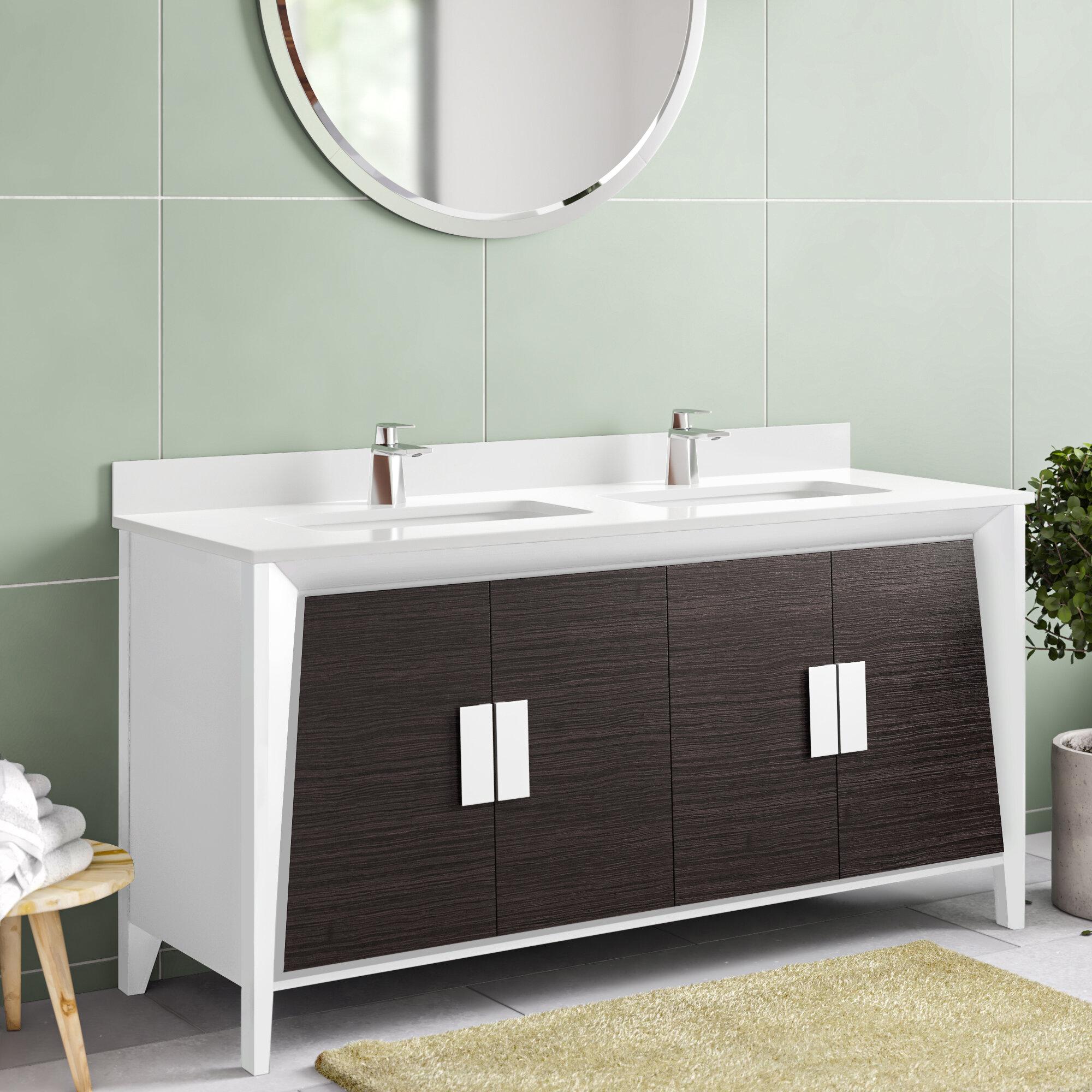 Mid Century Modern Bathroom Vanities You Ll Love In 2020 Wayfair