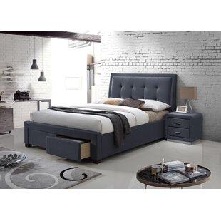 Erwann Upholstered Bed Frame By Brayden Studio
