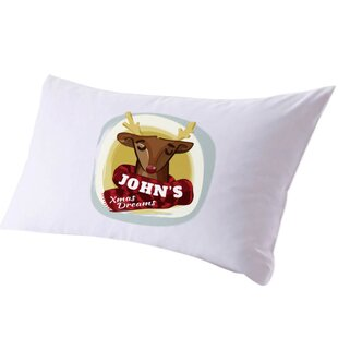 Personalized Kid's Name Christmas Pillow Case