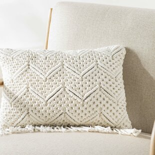 Dennet 100% Cotton Lumbar Pillow