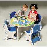Harmony Park Kids 5 Piece Table and Chair Set by Playscapes
