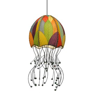 Jellyfish Hanging 1-Light Novelty Pendant