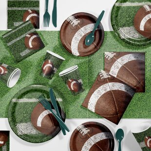Tailgate Rush Paper Party Supplies Kit