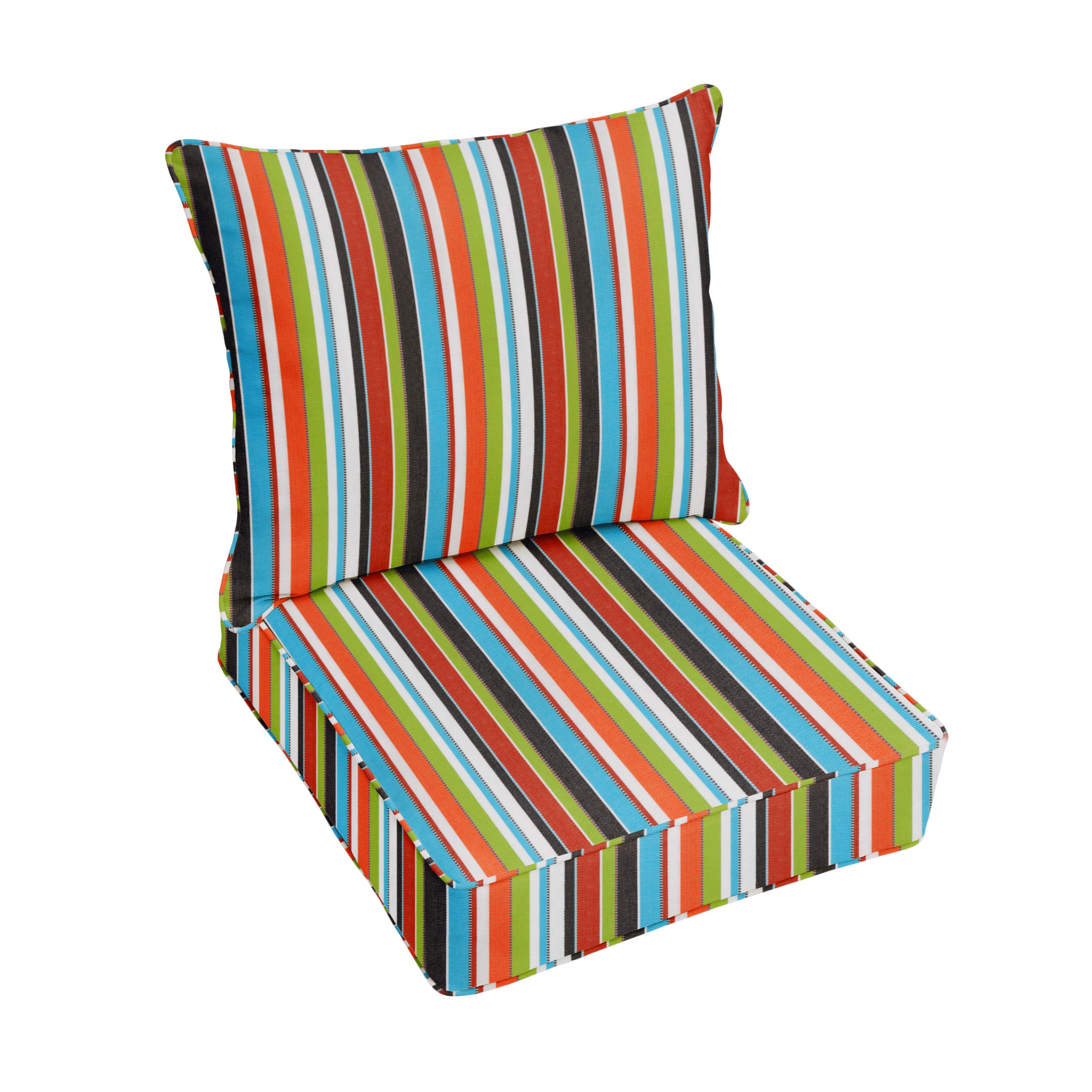 Fantastic Carousel Confetti Indoor Outdoor Sunbrella Lounge Chair Cushion Beutiful Home Inspiration Aditmahrainfo