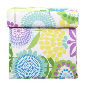 Pointillist Pansy Box Ottoman by Crayola LLC