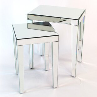 Quinnlynn 2 Piece Nesting Table Set