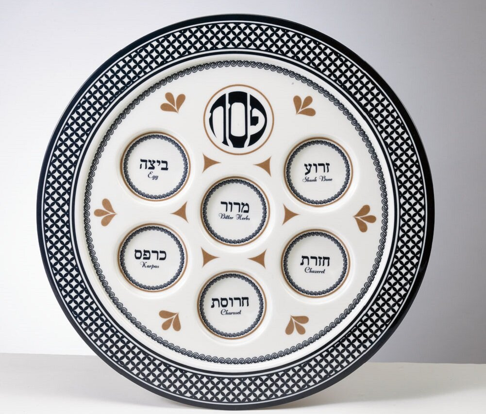 The Holiday Aisle Ultimate Classic Passover Seder Plate Wayfair