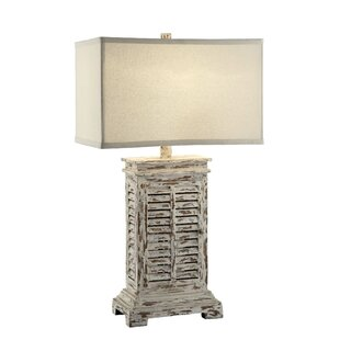 Antique Shutter 31 Table Lamp