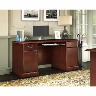 Bennington 4 Piece Desk Office Suite by Kathy Ireland Office by Bush