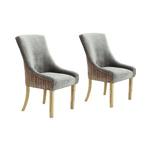 roberte upholstered dining chair set of 2