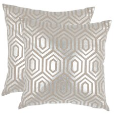 Mcfarland Linen Throw Pillow (Set of 2)