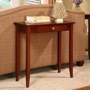 Bitozeves Rosewood Console Table by Latitude Run