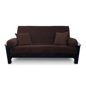 Suede Futon Slipcover by P..