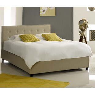 Fabric Button Upholstered Ottoman Bed By Brayden Studio