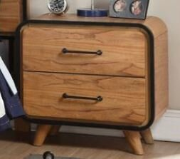 Gipson 2 Drawer Nightstand