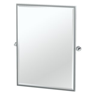Compare Glam Framed Rectangle Wall Mirror By Gatco