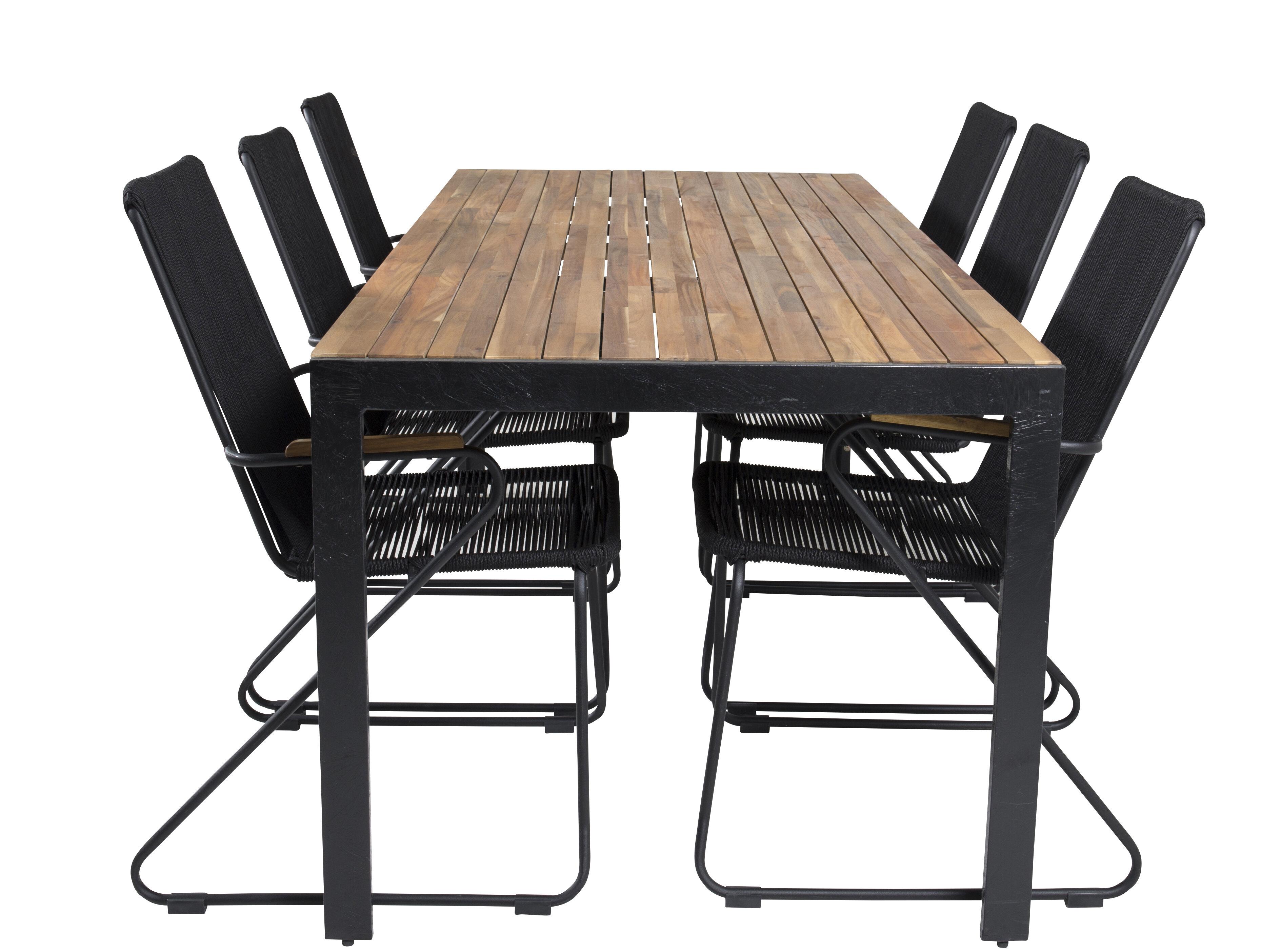 Hykkon Camron 6 Seater Dining Set Wayfair Co Uk