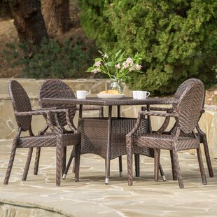 Hambly 5 Piece Dining Set