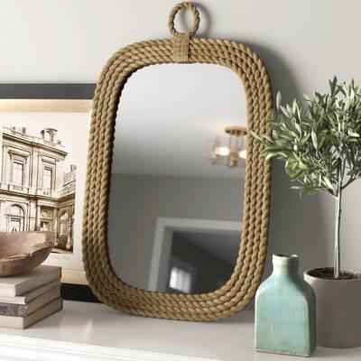 Designe Gallerie  Centeno Wooden Mirror Frame Large Brown