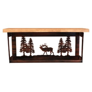 Coast Lamp Mfg. Iron Elk a..