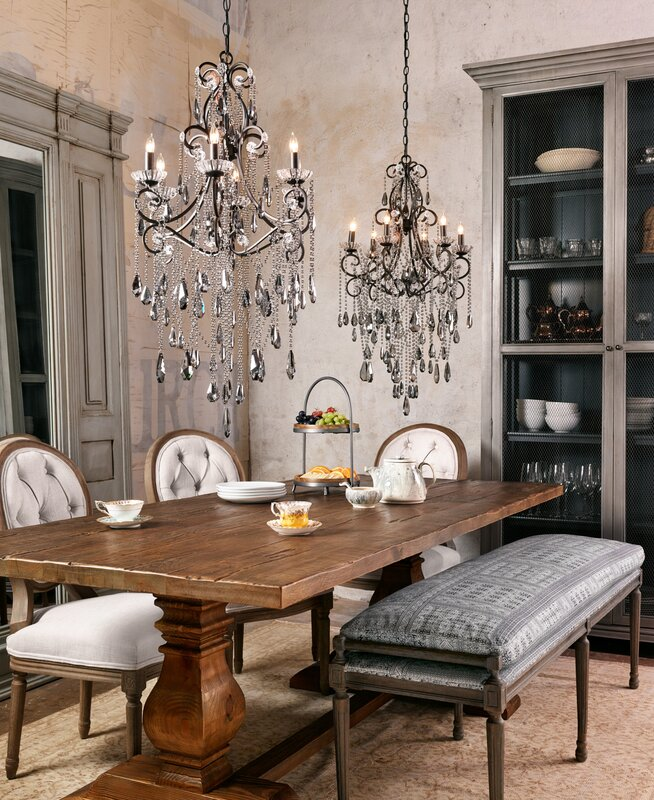 Nice Trestle Dining Table
