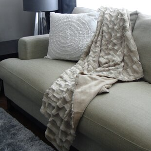Boyce Faux Fur Throw