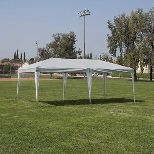 20 Ft. W x 10 Ft. D Steel Pop-Up Party Tent by Belleze