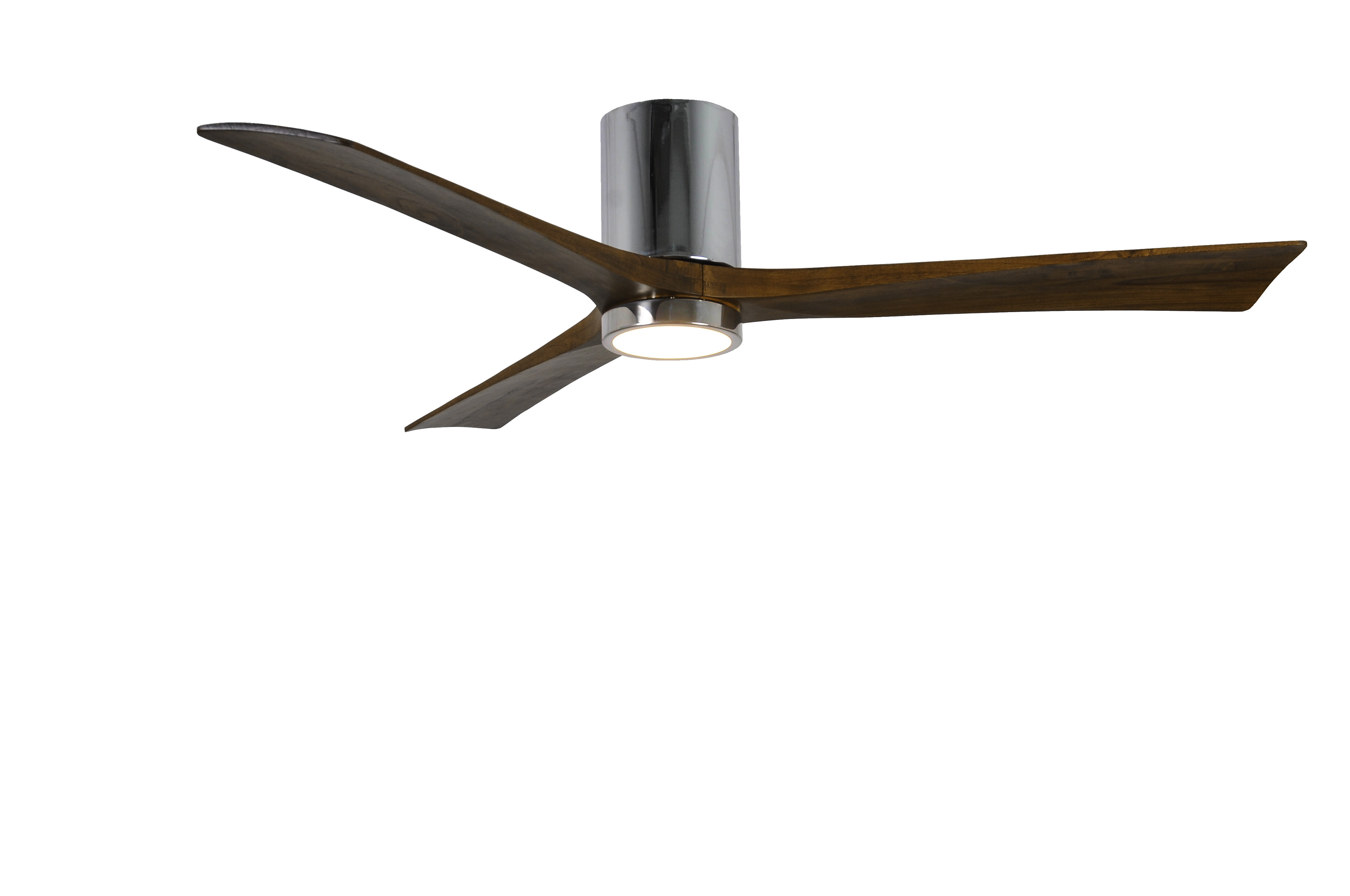 "Wade Logan 60"" Rosalind 3 Blade Hugger Ceiling Fan with Wall"