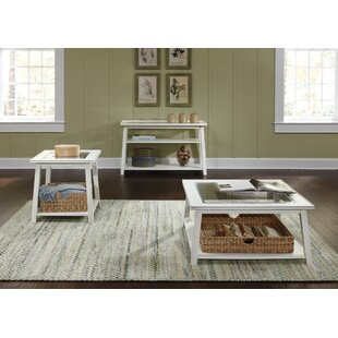 Reviews Meagan 3 Piece Coffee Table Set ByBeachcrest Home