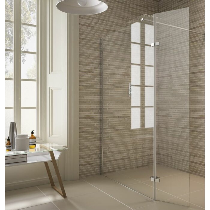 Earlstoke 2000 Mm X 800 Hinged Semi Frameless Shower Door