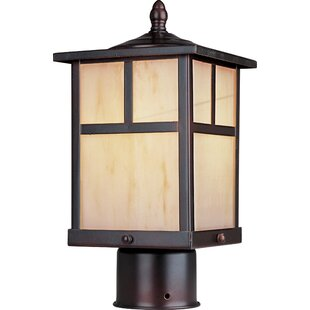 Affordable Bo 1 Light Small Outdoor Post Lantern By Loon Peak