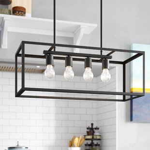 Wrought Studio Ratner 4-Light Kitchen Island Pendant