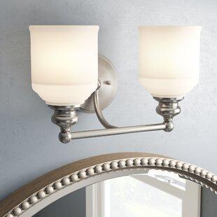Charlton Home Genevieve 2-Light Vanity Light