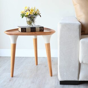 Cheap End Table For Living Room Three Posts Elianna End Table