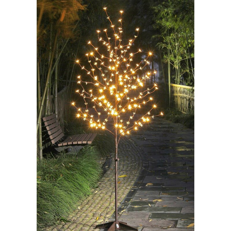 Cherry Blossom 208 Light Lighted Trees Branches Reviews